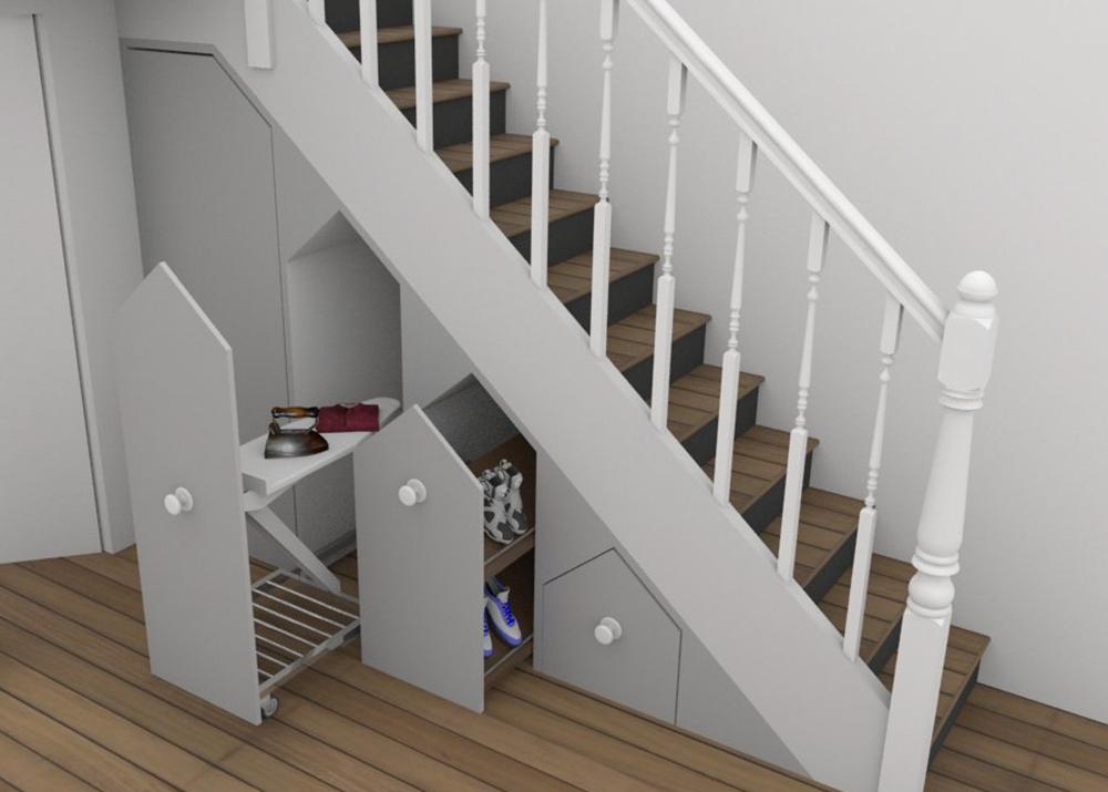 Under The Stairs Storage Under Stair Storage Ideas
