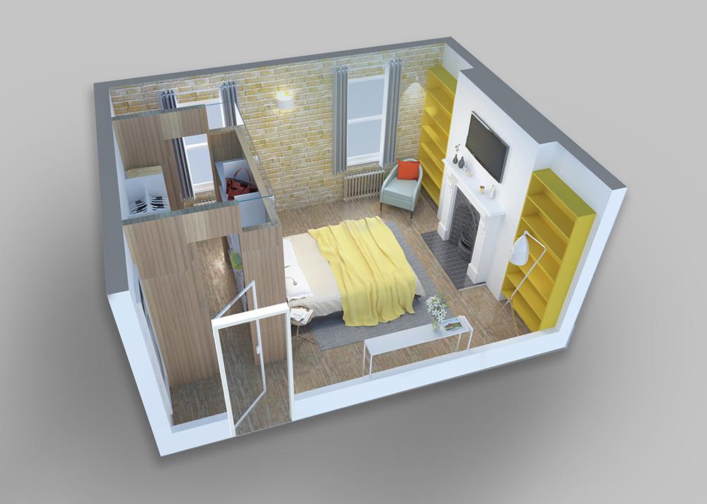 Floor Plan Bettere. Building Built In Wardrobe Cabinets Walk ...